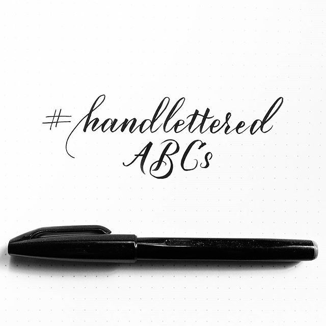 handletteredabcs - photo
