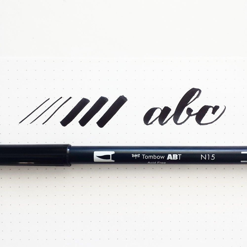 A comparison of my favorite brush calligraphy pens