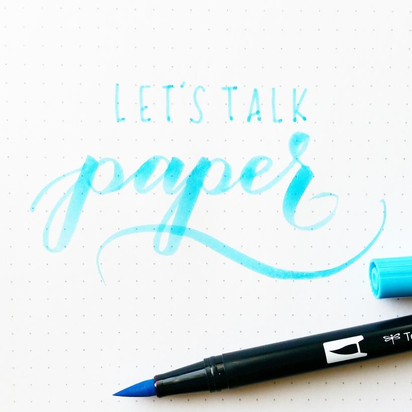 best paper brush calligraphy