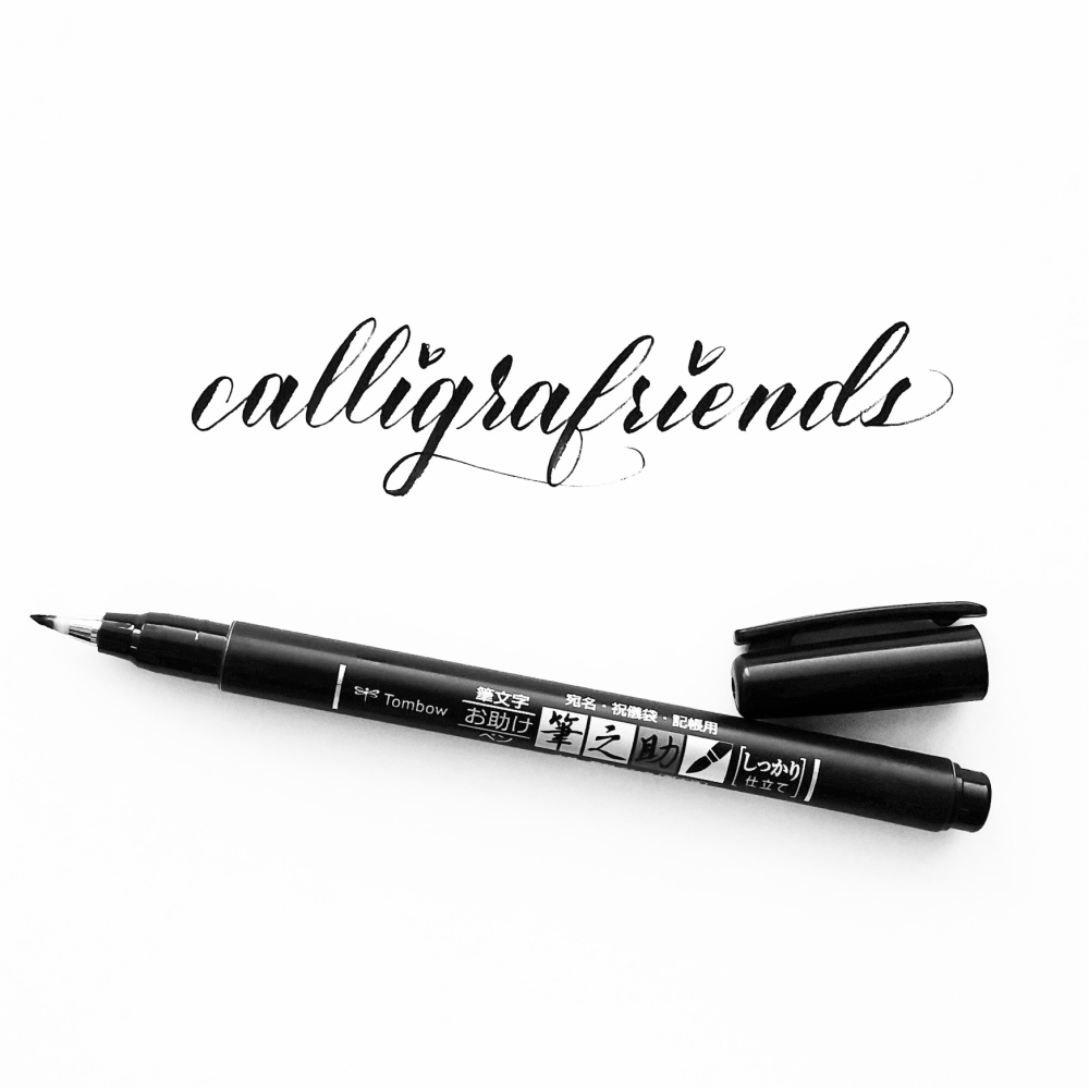 In my toolbox a review of five brush calligraphy pens