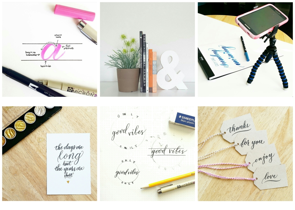 holiday gift guide for the brush calligrapher by pieces