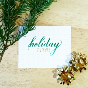 holiday giveaway pieces instagram