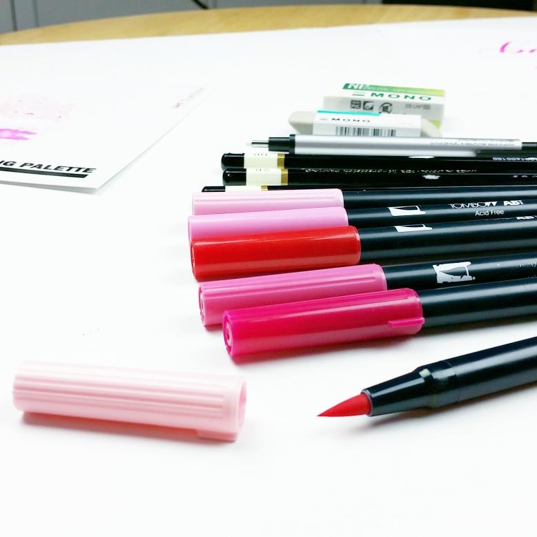 blogging video break | pieces brush calligraphy